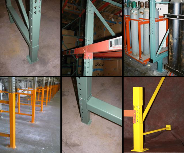 Parts for Rack Protection and Support