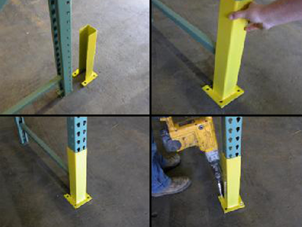 Steps in Installing a Rack Component